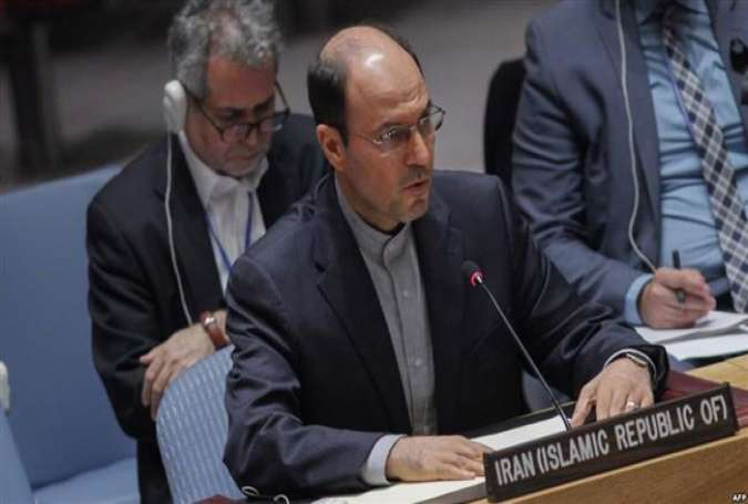 Gholam-Hossein Dehqani, Iran's deputy ambassador to the United Nations (UN)