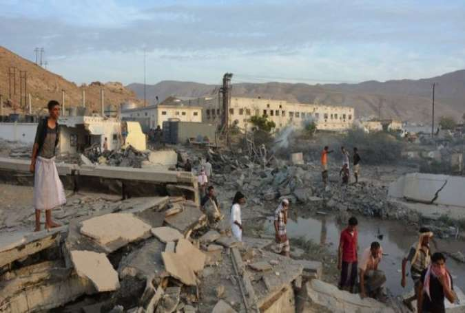 Yemeni Residential Area Hit by Saudi Warplanes