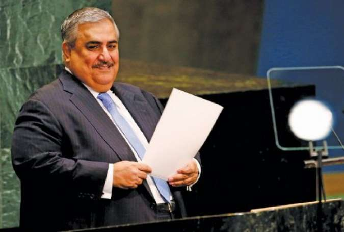 Bahraini FM Denies Targeting Shiites, Says Gov't Knows Better about Country than UN