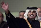 Sheikh Tamim bin Hamad Al Thani, Emir of Qatar since 2013. Qatar is an absolute monarchy. In theory, since 2003 the country has a constitution that provides for the election of a parliament. In practice, political parties are banned and the legislative elections always postponed.
