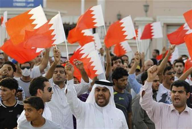 Bahrainis protest against May's visit amid Al Khalifah crackdown