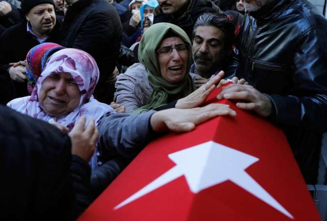 Turkey mourns after Istanbul nightclub attack