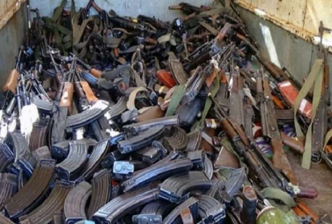 Weaponry collected from the gunmen.jpg