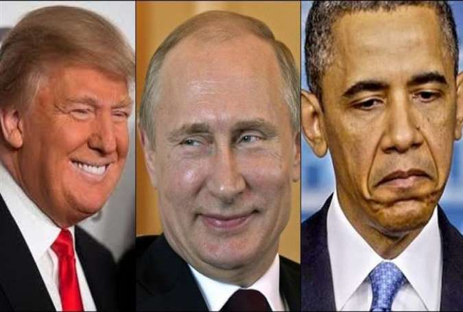 Obama trying to make road bumpy for Trump, Putin