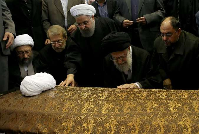 Iran mourns former president