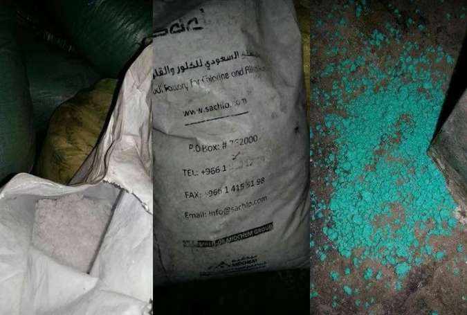 Syrian Army Discovers Saudi-Made Chemical Weapons in Aleppo