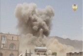 Saudi-led coalition bombs civic infrastructures in Yemen.jpg