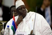 Gambia's long-time ruler Yahya Jammeh