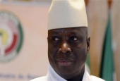 Gambia's ex-ruler escorted into exile