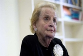 'Madeleine Albright supported murder of Muslims, but now wants to register as Muslim!'