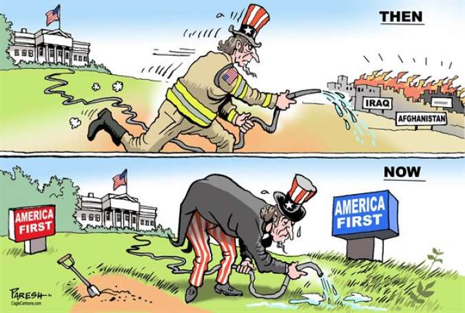 Uncle Sam then and now