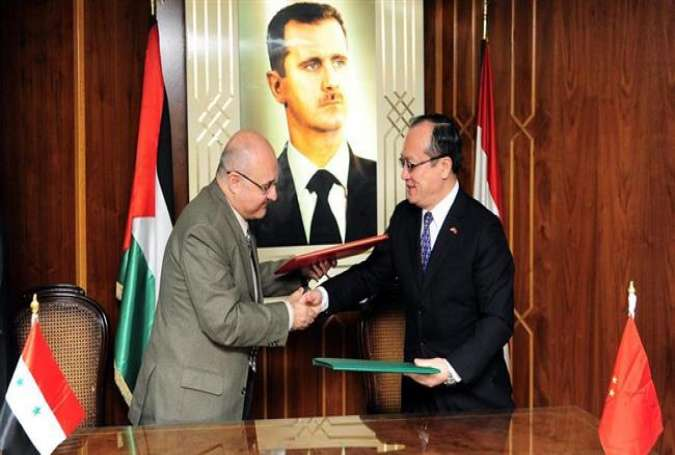 China Gives $16m Humanitarian Aid to Syrian Government