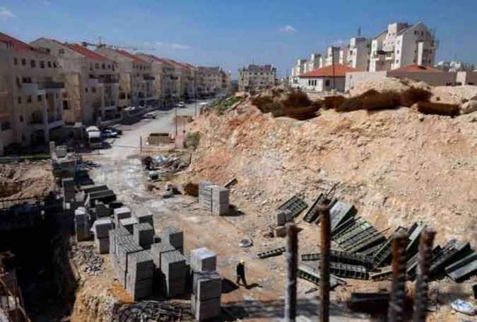 イスラエルの入植地(AFP)