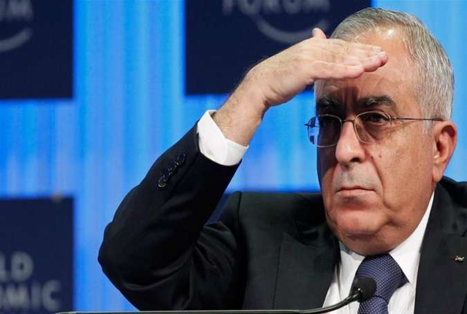 Former Palestinian prime minister Salam Fayyad