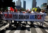 Thousands of Mexicans Demonstrate against US Policies