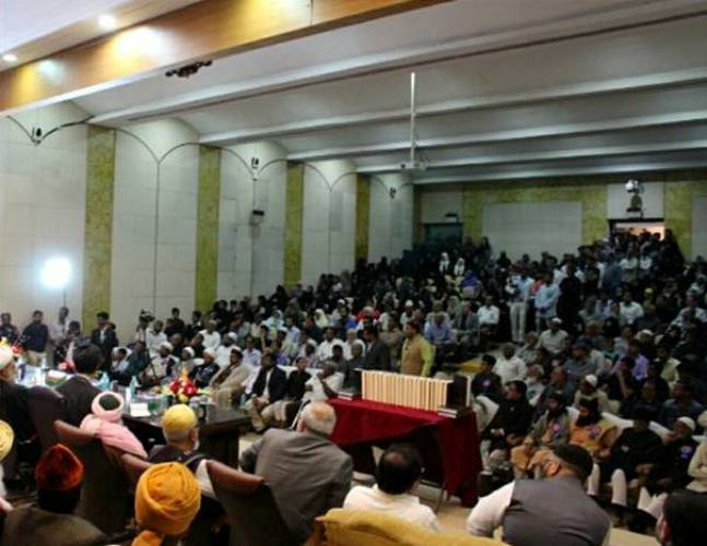 حیدرآباد انڈیا میں اتحاد امت عالمی کانفرنس منعقد، آیت اللہ محسن اراکی کی خصوصی شرکت