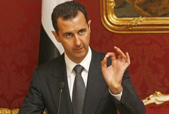 France Support for Terrorists Direct Cause of Bloodshed in Syria: Assad