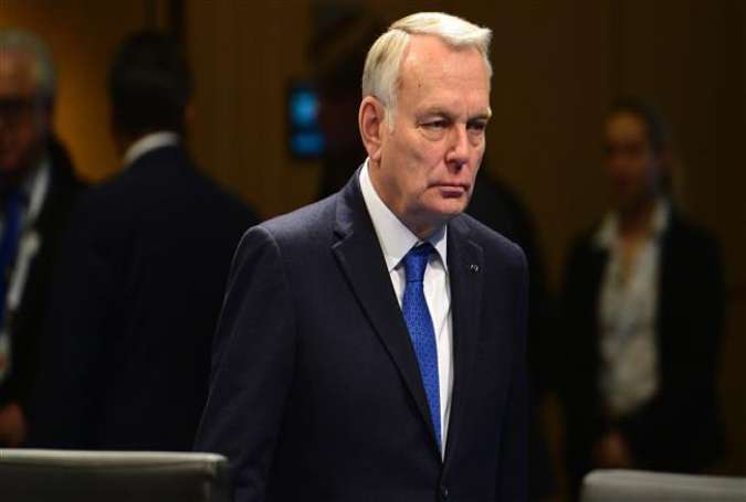 French Foreign Minister Jean-Marc Ayrault attends a working session during a meeting of the G20 in Bonn, western Germany, February 17, 2017.