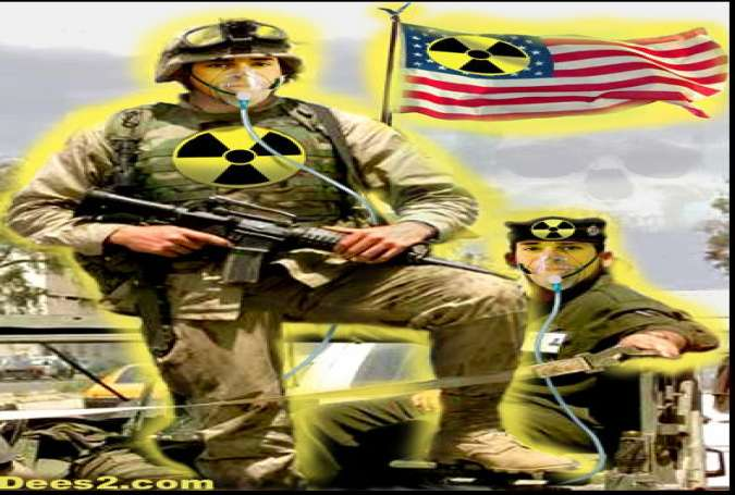 US Terror-Bombed Syria with Toxic Depleted Uranium(DU) Weapons