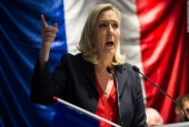 Far-right presidential candidate Marine Le Pen