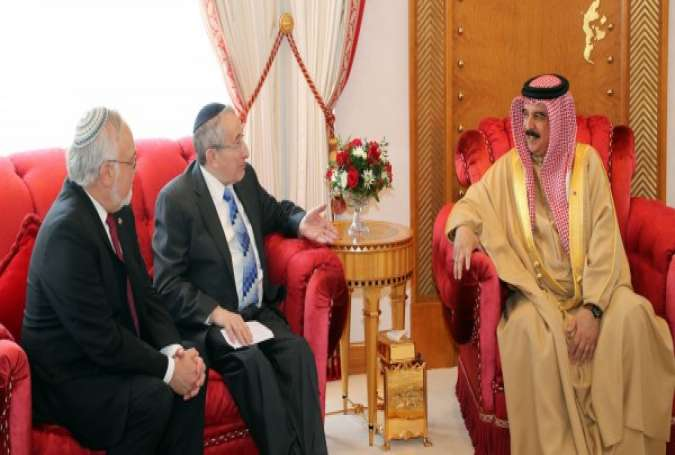 "Bahrain's King Receives American Rabbi, Says his Country ""Embraces Cultural and Religious Diversity"""
