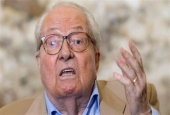 A file photo of Jean-Marie Le Pen, the founder of the French far-right National Front party