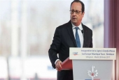 Sniper accidentally shoots 2 people during Hollande's speech