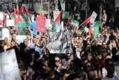 Jordanians protest a gas deal with Israel in Amman.jpg