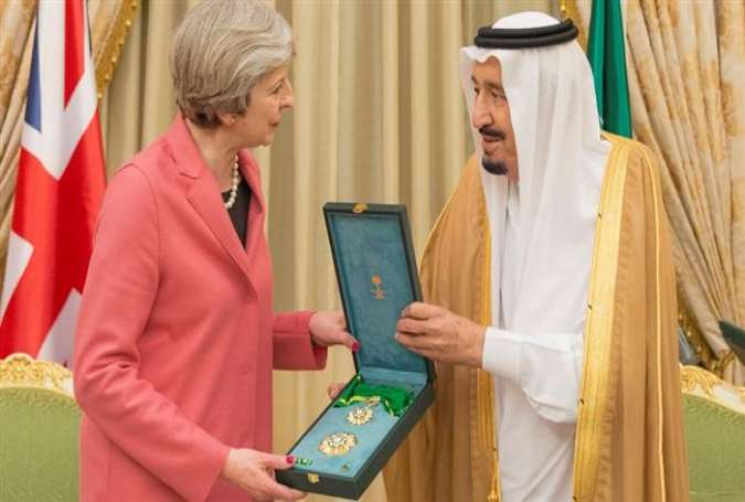 PM May gets top Saudi honor as British bombs rain on Yemen civilians