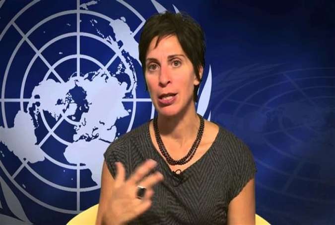 UN Special Rapporteur on the right to adequate housing Leilani Farha (File photo)