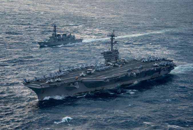 US Aircraft Carrier Deployed in Direct Threat to North Korea