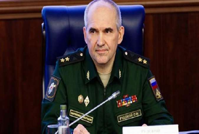 Colonel General Sergey Rudskoy, the chief of the Russian General Staff's operations department