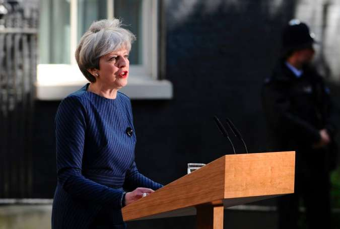 Theresa May's call for early election 'cheap opportunism'