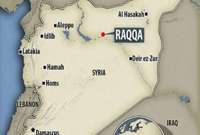 The US May Give Raqqa to 'Their Rebels'