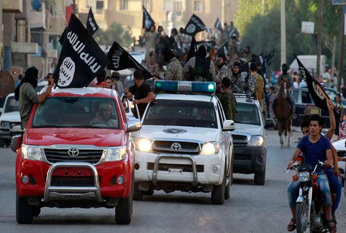 ISIS Relocates Its So-Called Capital in Syria
