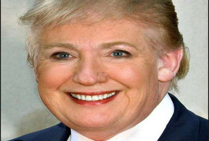 First Transgender President: Trump Becomes Hillary