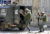 Israeli occupation forces shoot at Palestinians.jpg