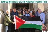 Ireland capital votes to fly Palestinian flag above city hall for Nakba Day