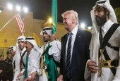 Trump busts a move after record Saudi arms deal