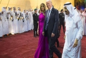 Trump looking for 'foreign triumph' in Saudi amid Russiagate scandal