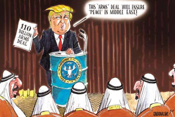 Trump's Big Saudi Arms Deal