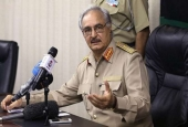 Head of the Libyan National Army Khalifa Haftar