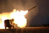 A file photo of the US High Mobility Artillery Rocket Systems (HIMARS)
