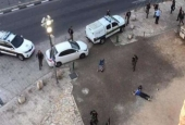 Two Palestinians shot dead by Israeli troops in the Old City of the occupied East Jerusalem al-Quds.jpg