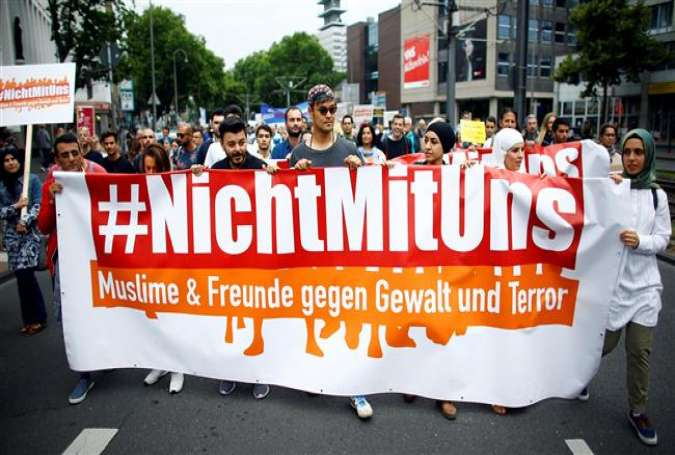 Thousands rally in Germany against terrorism