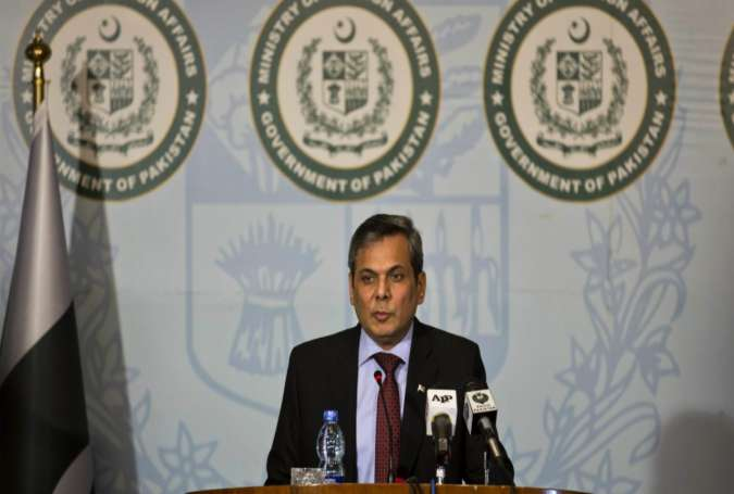 Pakistani Foreign Office Spokesperson Nafees Zakaria