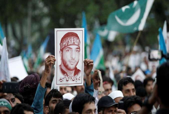Pakistanis Rally in Solidarity with Kashmiris, Protest US Blacklisting Separatist Leader