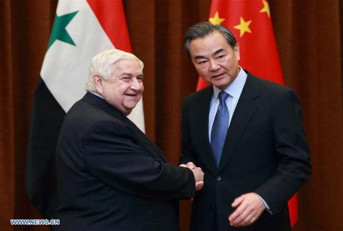 シリアにおける中国の地政学的関心