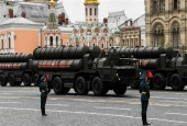 Russian S-400 Triumph medium- and long-range surface-to-air missile systems.jpg