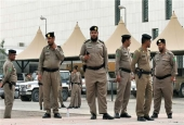 Saudi police officers